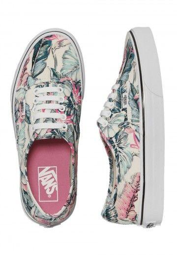 Vans - Authentic Tropical Multi/True White - Girl Schuhe - Offizieller Streetwear Online Shop - Impericon.com