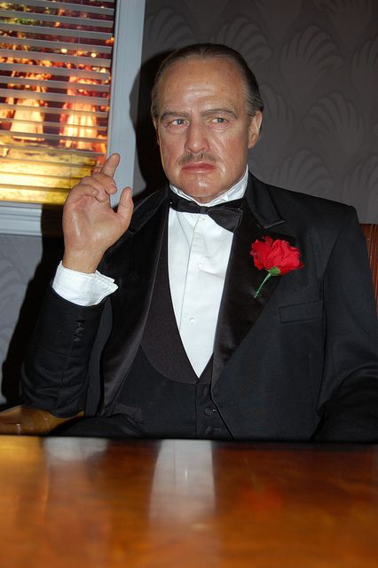 Marlon Brando, The Godfather  - Madame Tussauds Wax museum, Hollywood