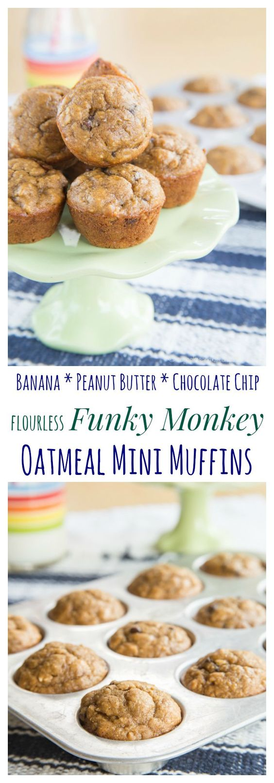 ... peanut butter healthy mini muffins chocolate bananas peanut butter