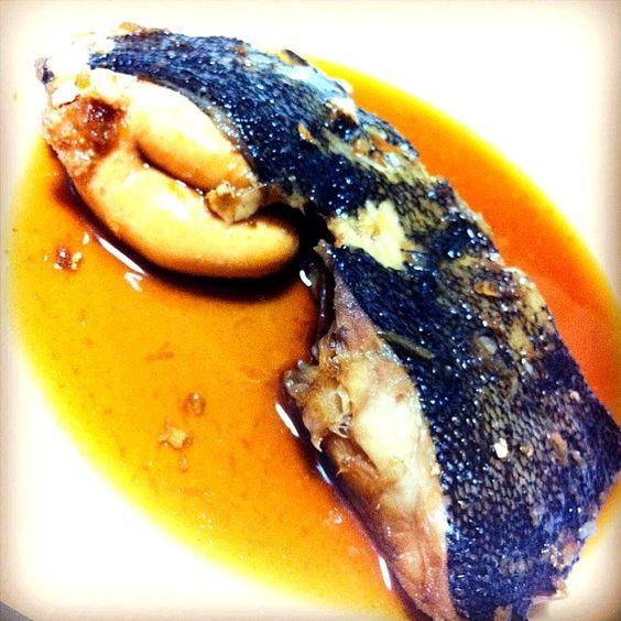 …少し皮が取れちゃいましたが(泣)f^_^;) - 4件のもぐもぐ - カレイの煮付け☆♪( ´▽`) by moca003