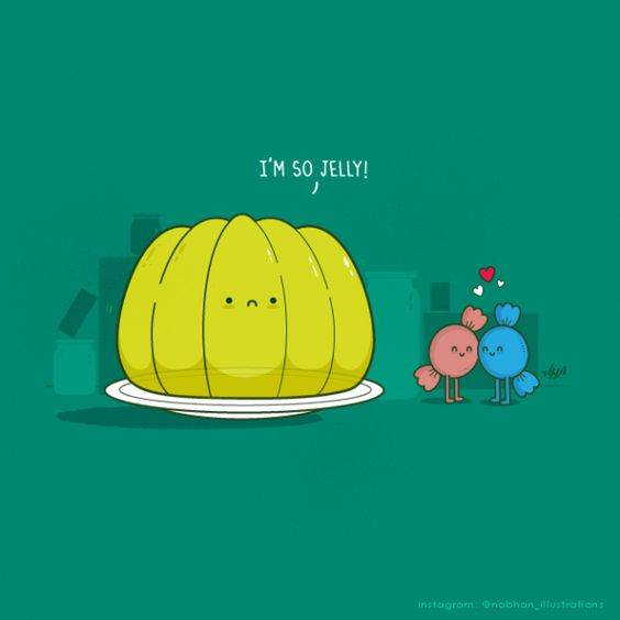 Puns, Jelly and Illustrations on Pinterest