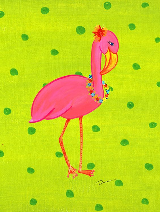 Flamingo 2 Sided Garden Flag Gardens Flags and Flamingos