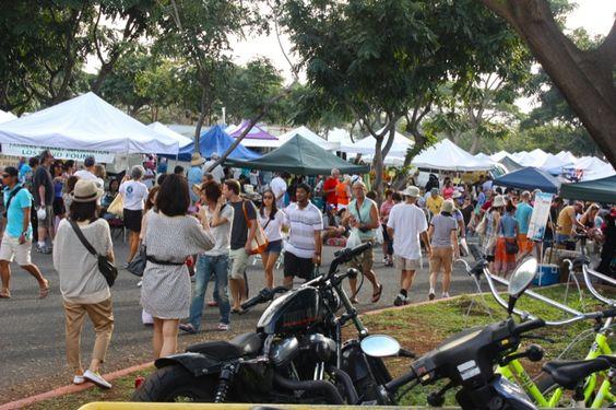 k.c.c farmers market honolulu