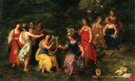 Mitolog�a griega: Las Musas: