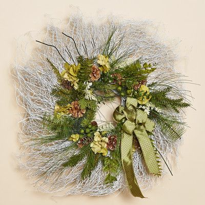 Harvest of Barnstable Enchanted Forest White Twig Wreath