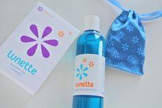 Pflege und Aufbewahrung  Zubehör für die Lunette Menstruationskappe.