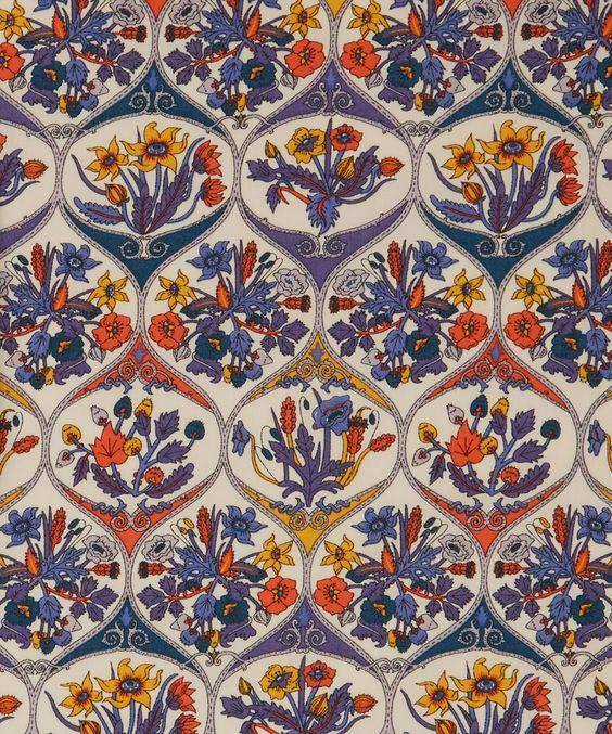Liberty Art Fabrics Opie C Tana Lawn Cotton: