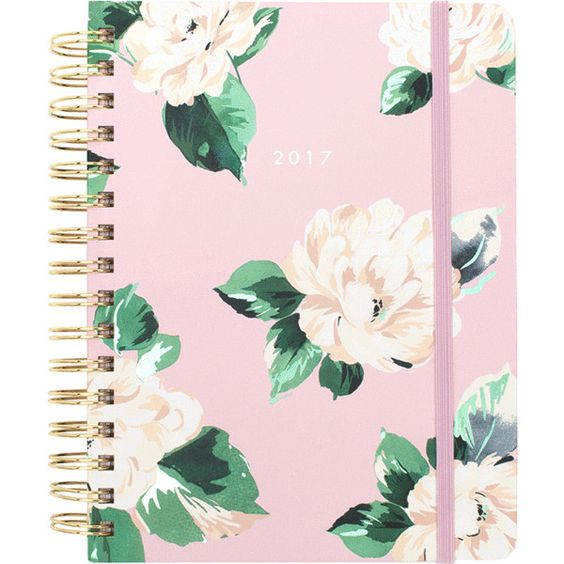 ban.do 17 month medium agenda lady of leisure ($28) ❤ liked on Polyvore featuring home and home decor