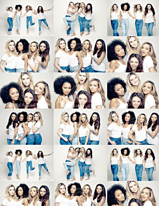 Little Mix photoshoot - GLAMOUR Women Of The Year (2014)