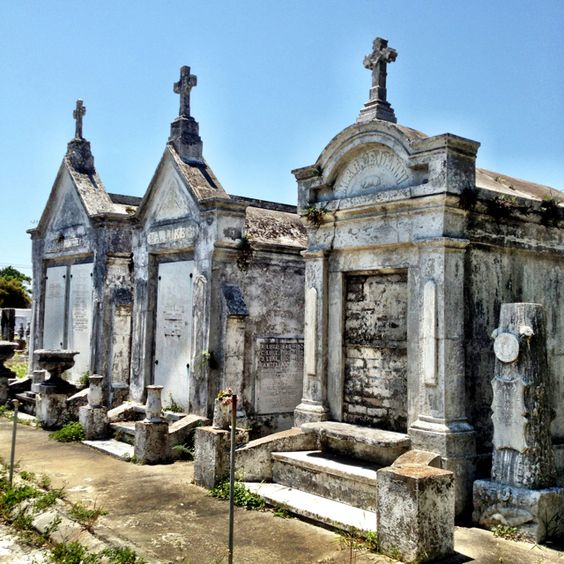 New Orleans has more than 30 historic cemeteries.