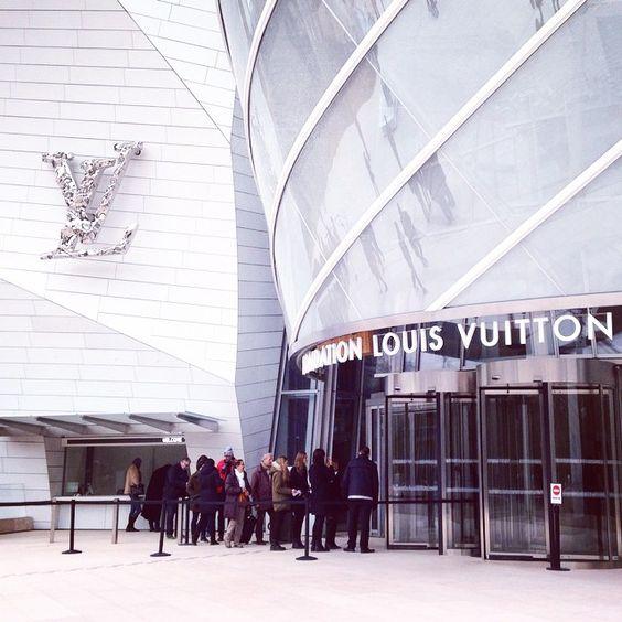 #louisvuitton #foundation #gallery #paris