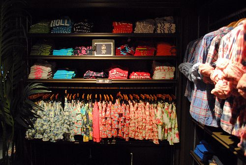 hollister.  I would love to have this as my closet .