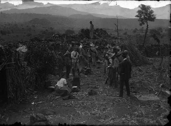 Zapatistas near Xochimilco. 1911