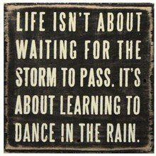 Good thing I like dancing!