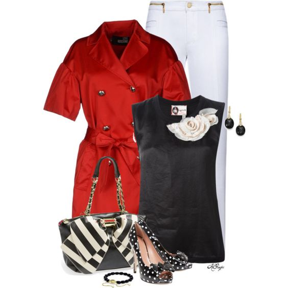 """Short Sleeved Trench Coat Contest"" by kginger on Polyvore"