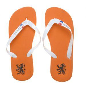 Slippers - Oranje aan je voeten