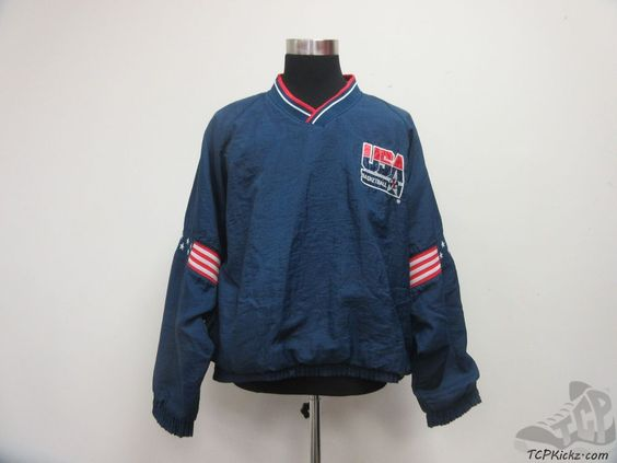 Vtg 90s Pro Player USA Light Pullover Windbreaker Jacket sz L SEWN ...