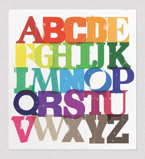 #thinkcolorfully ABCs