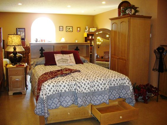 Bedroom Furniture Available At The Amish Buggy Peach Street