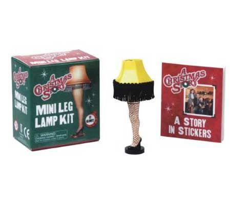 Mini Leg Lamp Kit A Christmas Story $899 A CHRISTMAS STORY