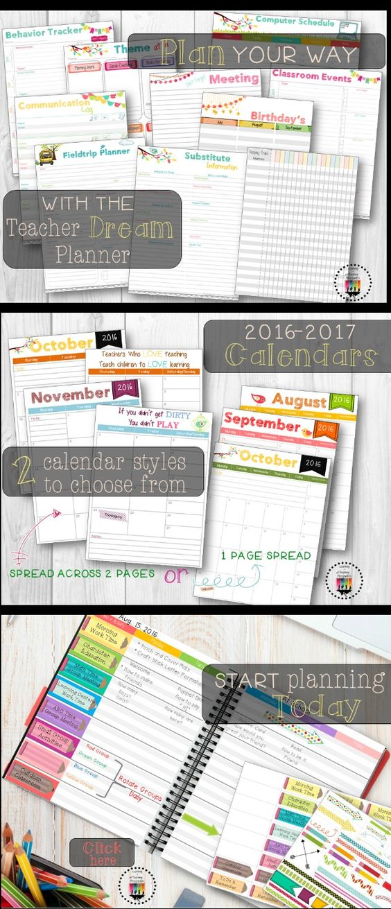 These easy instant download printable planner sheets are a great way