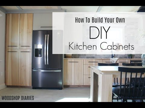Custon Kitchen Cabinets Don T Have To Cost A Fortune If You Build Them Yourself I Ll Show Yo Simple Kitchen Cabinets Kitchen Cabinet Door Styles Diy Kitchen