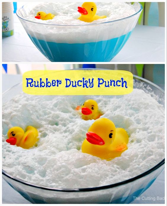 How To Make Baby Shower Punch: Baby Shower Punch, Punch And Rubber Ducky Punch On Pinterest
