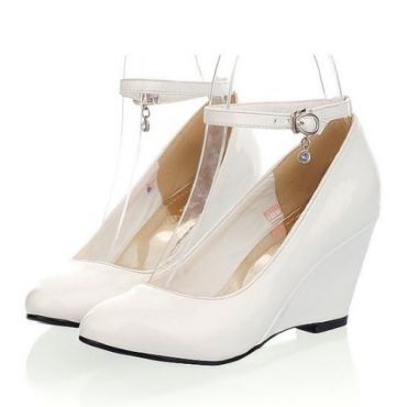 Wedge Shoes White