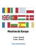 Receitas da Europa:  Internet Site,  Website, Web Site