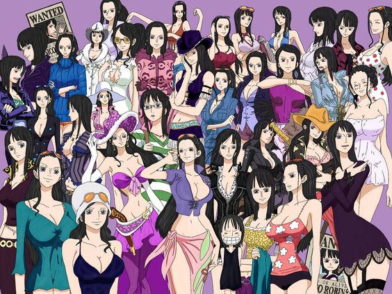 Every Nico Robin Outfits by IdafKun on DeviantArt
