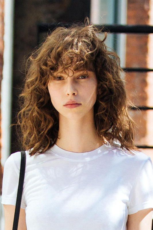 Our Favorite Hairstyles For Thin Curly Hair Thin Curly Hair Curly Hair Styles Curly Hair With Bangs