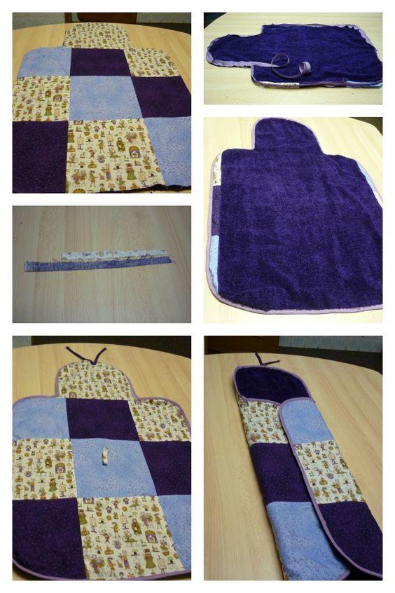 Cambiador patchwork para beb cambiadores pinterest - Cambiador bebe patchwork ...