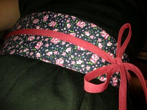 ceinture large pour robe cintré à la taille
