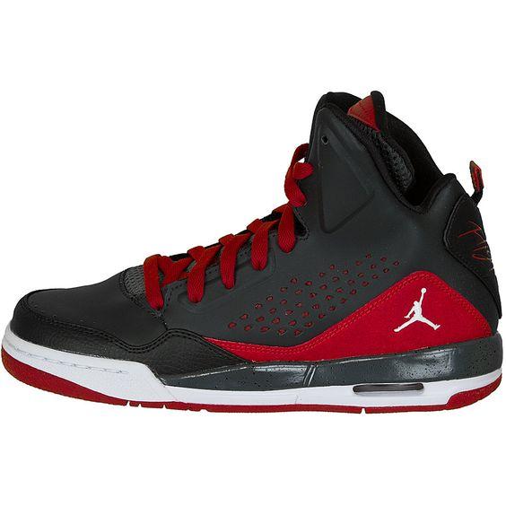 Jordans Rot Weiß