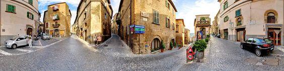 Many streets in Orvieto