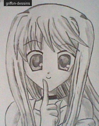 Dessin manga comment dessiner des personnages - Dessiner un manga fille ...