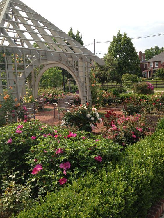 Rose Garden Franklin Park Conservatory And Gardens
