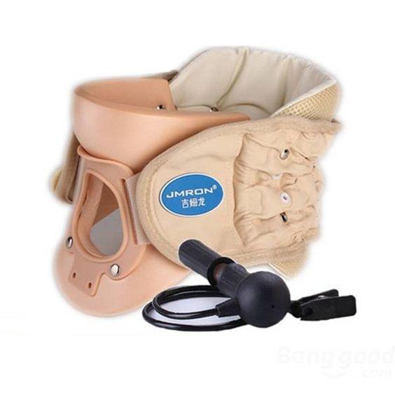Jmron Cr 802 Cervical Vertebra Brace Air Traction Therapy Item Belt
