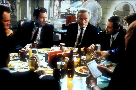 Reservoir Dogs - Steve Buscemi - Lawrence Tierney - Quentin Tarantino - Michael Madsen