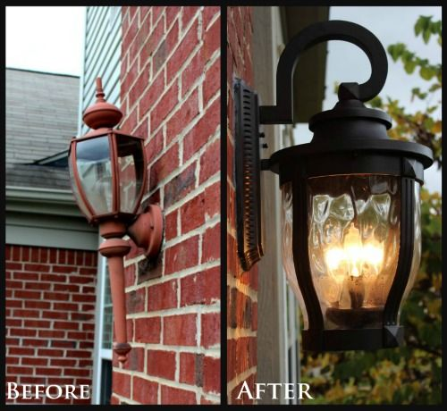 link lights exterior lighting tips curb appeal set of light fixtures