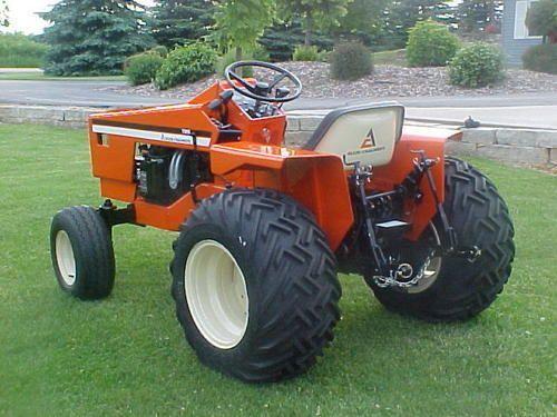 Pin On Allis Chalmers Simplicity Garden Tractors