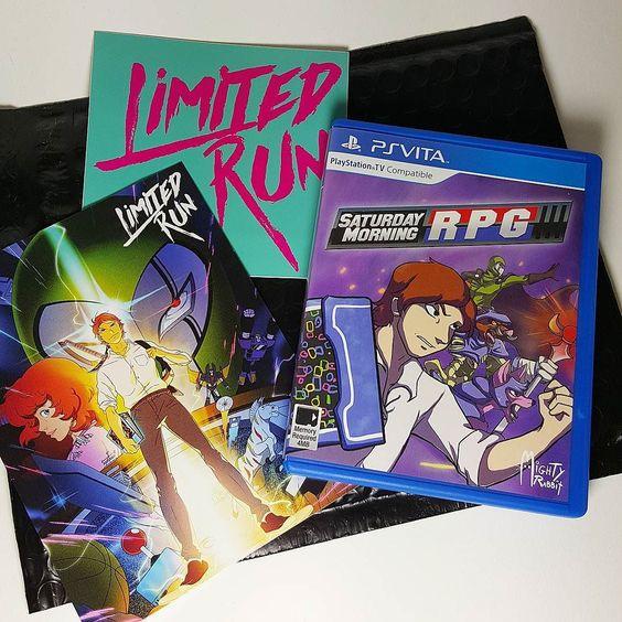 Thanks @limitedrungames !  #psvita #psvitahasnogames #gaming #videogames #collector #rpg by damonx