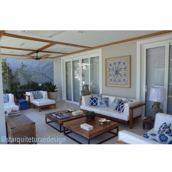 Varanda. Design de interiores/Interior Design. Projeto ST Arquitetura e Design