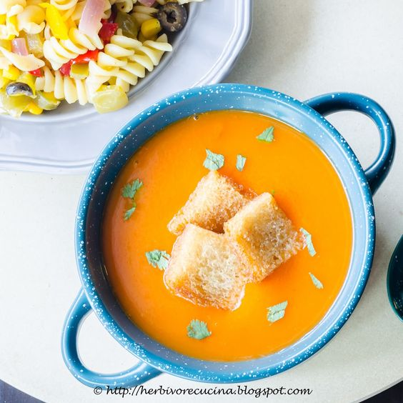 Tomato Soup Is Probably The Most Common Of All Vegetarian Soups Available Restaurants Serve