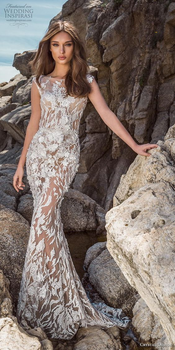 bold bride in this wedding dresses