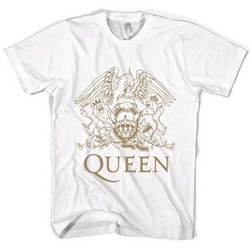Queen Rock Band Logo Freddie Mercury Tour T-shirt Size S M L XL 2XL | Teezhirt.com