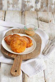 Lykkelig - mein Foodblog: Duftendes Herbst-Soulfood: Apfelküchle mit Zimt und Zucker.