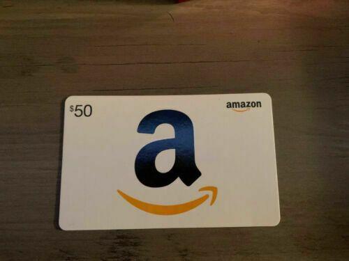 Amazon 50 Gift Card Amazon In 2020 Amazon Gift Card Free Get Gift Cards Amazon Gift Cards