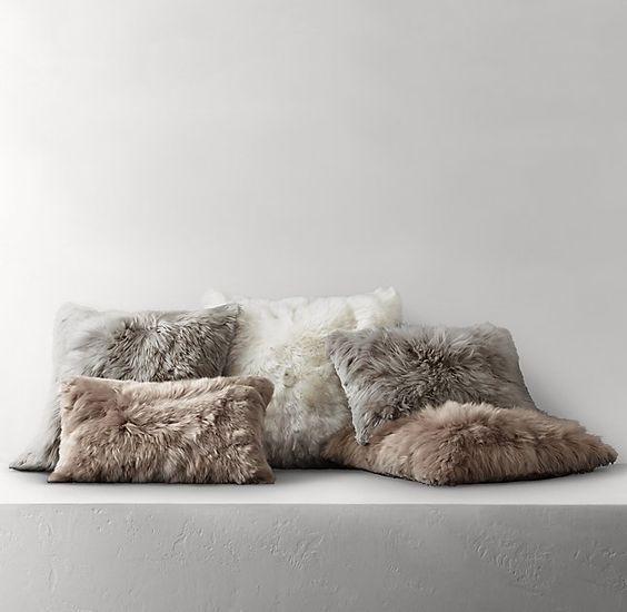 Suri Alpaca Fur Pillow Cover