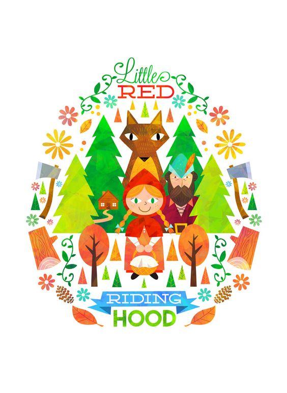 Little Red Riding Hood by Matt Kaufenberg